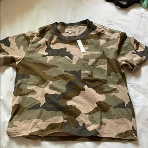 Madewell Camo t-shirt size S